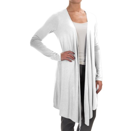 Yummie by Heather Thomson Cascading Cardigan Shirt - Open Front, Long Sleeve (For Women)