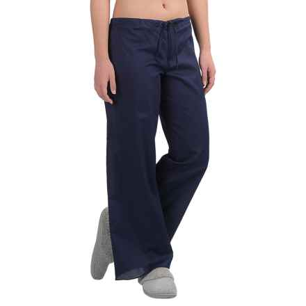 Yummie by Heather Thomson Cotton Voile Lounge Pants (For Women) in Evening Blue - Closeouts