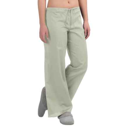 Yummie by Heather Thomson Cotton Voile Lounge Pants (For Women) in Mineral Gray - Closeouts