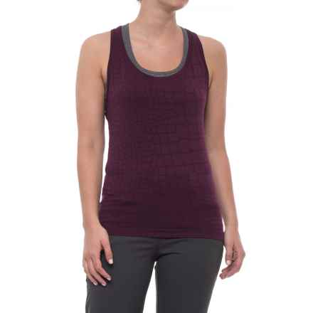 Yummie by Heather Thomson Daria Tank Top (For Women) in Potent Purple Croc - Closeouts