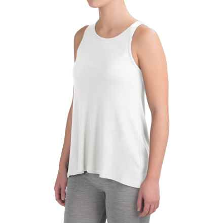 Yummie by Heather Thomson Racerback Tank Top - Pima Cotton Blend (For Women) in White - Closeouts