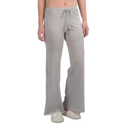Yummie by Heather Thomson Wide-Leg Lounge Pants (For Women) in Opal Grey - Closeouts