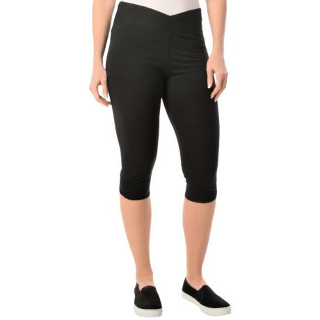 Yummie Tummie Candace Fitted Capris Stretch Cotton (For Women)