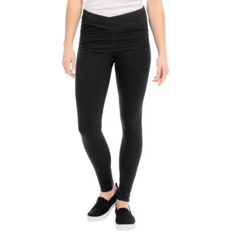 Yummie Tummie Cotton Wow Hannah Fitted Leggings (For Women)
