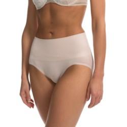 Yummie Tummie Nylon Nici Everyday Shaping Briefie Underwear - Brief, Seamless (For Women) in Hush
