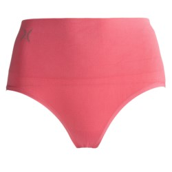 Yummie Tummie Nylon Nici Everyday Shaping Briefie Underwear - Brief, Seamless (For Women) in Pink