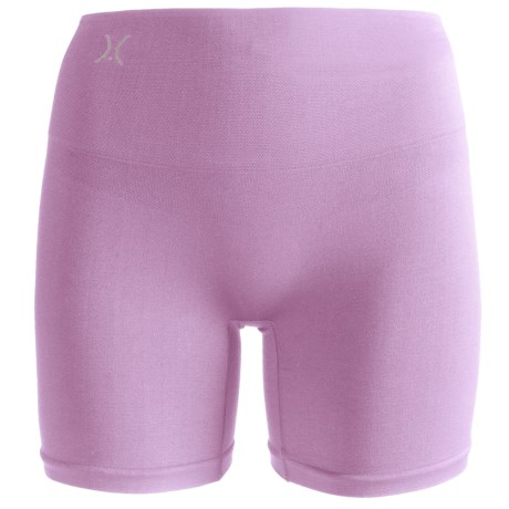 Yummie Tummie Nylon Nina Shaping Shortie Underwear - Seamless, Briefs (For Women) in Lavender