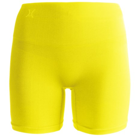Yummie Tummie Nylon Nina Shaping Shortie Underwear - Seamless, Briefs (For Women) in Lime