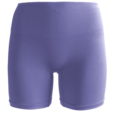 Yummie Tummie Nylon Nina Shaping Shortie Underwear - Seamless, Briefs (For Women) in Periwinkle