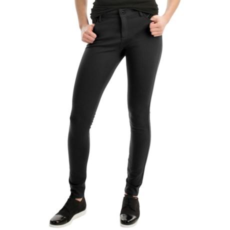 Yummie Tummie Ponte Skinny Jean Leggings (For Women)