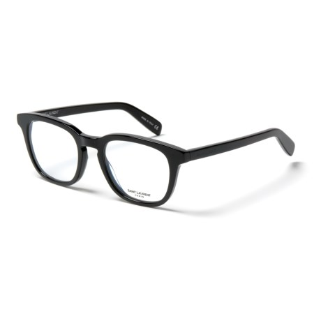 Yves Saint Laurent SL 144 Transparent Optical Frame Glasses (For Women) in Black/Black