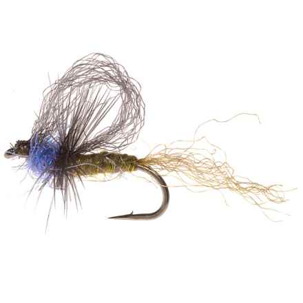 Z-Dun Dry Fly - Dozen in Blue Winged Olive - Closeouts