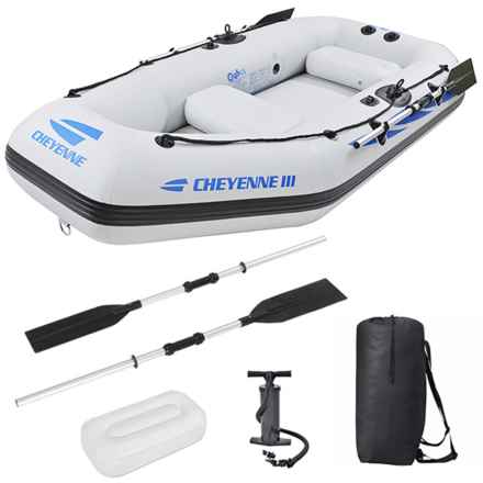 Z Ray Cheyenne III 400 Inflatable Raft Kit in White - Overstock
