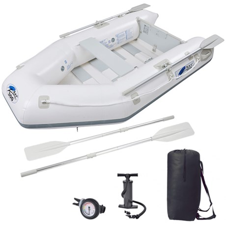 Z Ray II 300 Inflatable Boat in White