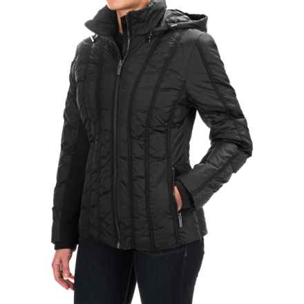 Zac Posen Olivia Gross Grain Down Jacket (For Women) in Black - Closeouts