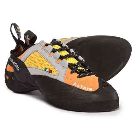 Zamberlan A46 Altair Climbing Shoes - Suede (For Men and Women) in Orange - Closeouts