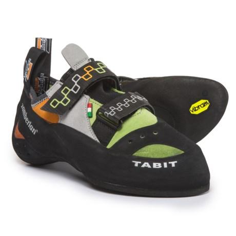 Zamberlan A50 Tabit Climbing Shoes - Suede (For Men and Women) in Acid Green