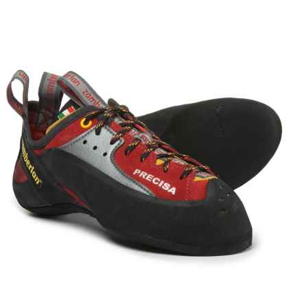 Zamberlan A82 Precisa Climbing Shoes - Suede (For Men) in Amaranto - Closeouts