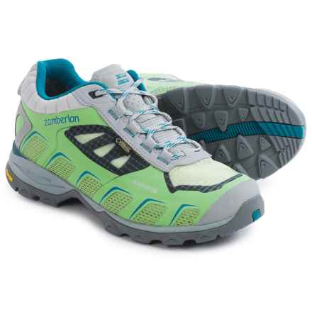 Zamberlan Airound Gore-Tex® RR Hiking Shoes - Waterproof (For Women) in Light Green - Closeouts