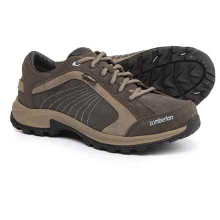 Zamberlan Arch Gore-Tex® Hiking Shoes - Waterproof, Suede and Nubuck (For Women) in Anthracite/Beige - Closeouts