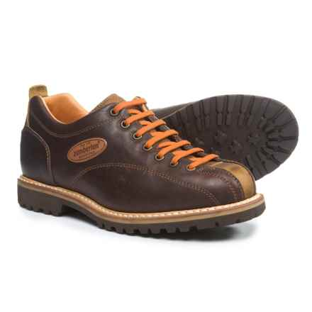 Zamberlan Cortina Low GW Shoes - Leather (For Men) in Chestnut - Closeouts