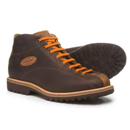 Zamberlan Cortina Mid GW Boots - Leather (For Men) in Chestnut - Closeouts