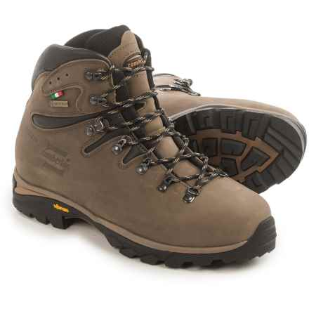 Zamberlan Cristallo Gore-Tex® Hiking Boots - Waterproof, Leather (For Men) in Brown/Black - Closeouts