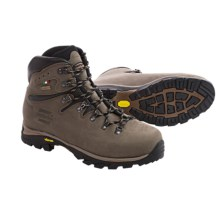 Zamberlan Cristallo Gore-Tex® Hiking Boots - Waterproof, Nubuck (For Men) in Brown/Black - Closeouts