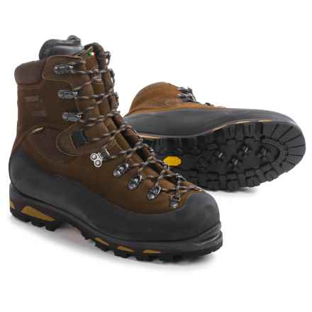 Zamberlan Expert Ibex Gore-Tex® RR Hunting Boots - Waterproof, Insulated (For Men) in Brown - Closeouts
