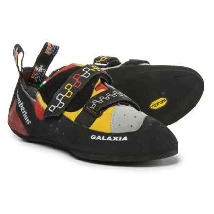 Zamberlan Galaxia Climbing Shoes - Suede, Touch-Fasten (For Men and Women) in Lime - Closeouts