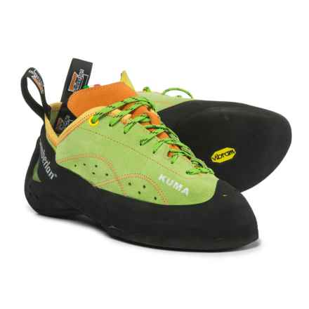 Zamberlan Kuma Climbing Shoes - Suede (For Men and Women) in Acid Green - Closeouts