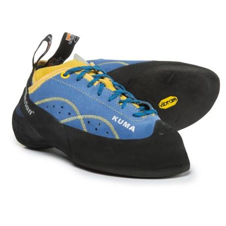 Zamberlan Kuma Climbing Shoes - Suede (For Men and Women) in Cobalt