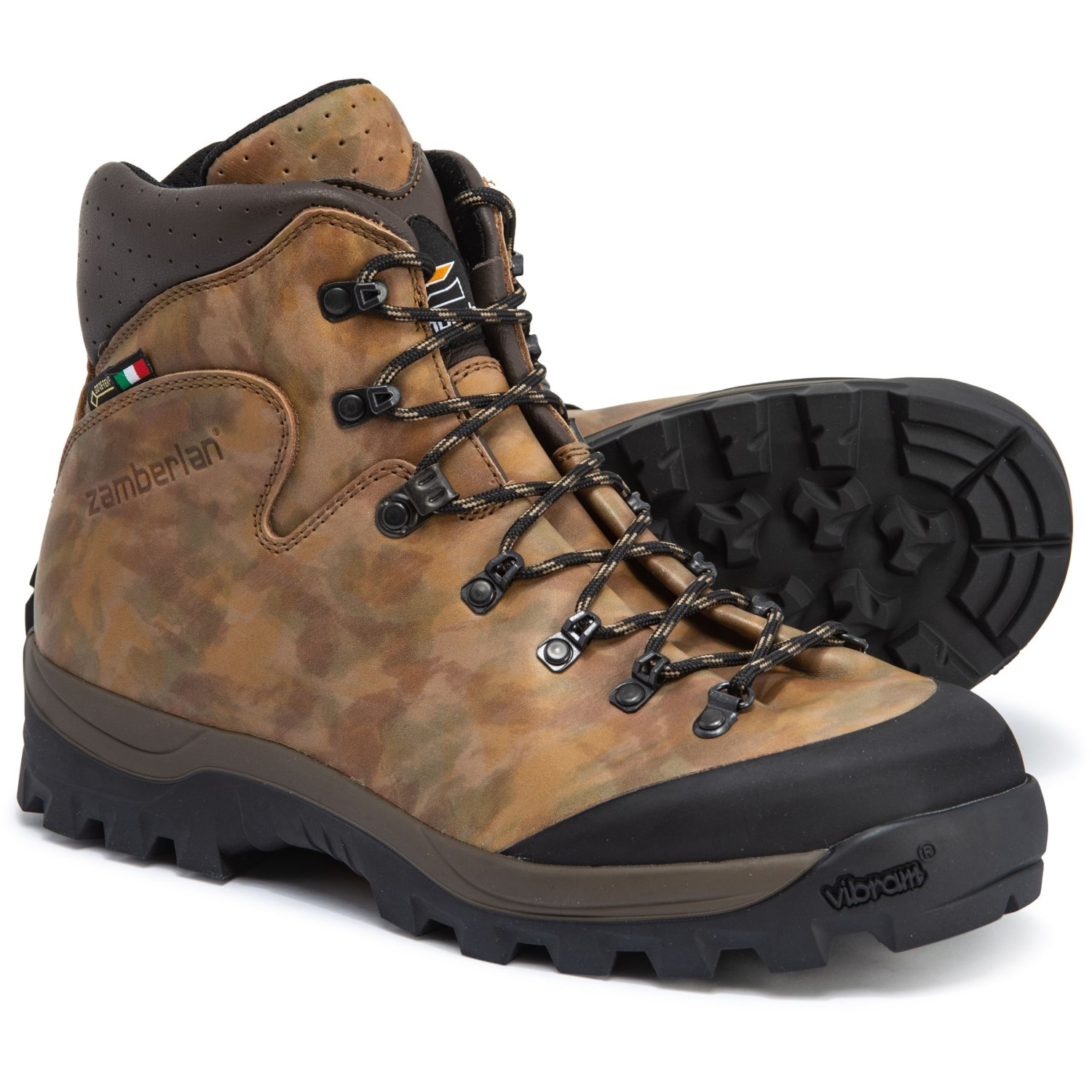 Zamberlan Made in Italy Haka Gore Tex® RR Hunting Boots Waterproof (For Men)