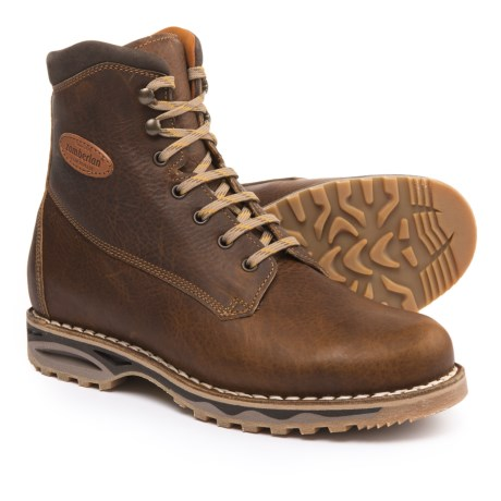 Zamberlan Nevegal NW Casual Boots - Leather (For Men) in Mustard