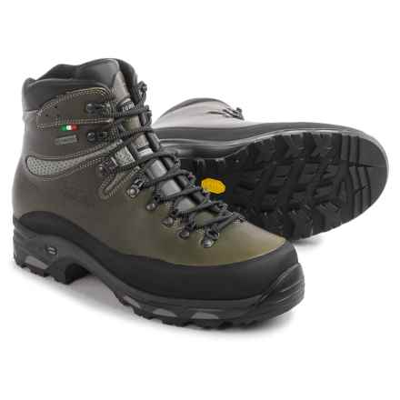 Zamberlan New Vioz Plus Gore-Tex® RR Hunting Boots - Waterproof (For Men) in Waxed Forest - Closeouts
