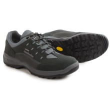 Zamberlan Oak Low Gore-Tex® Hiking Shoes - Waterproof (For Men) in Anthracite/Steel - Closeouts