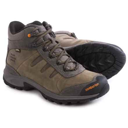 Zamberlan Ridge Mid Gore-Tex® RR Hiking Boots - Waterproof (For Men) in Grey - Closeouts