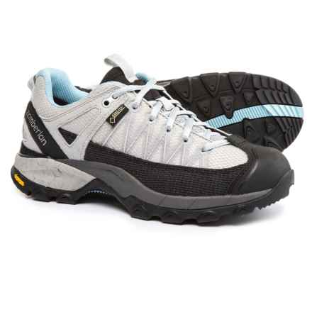 Zamberlan SH Crosser Gore-Tex® RR Hiking Shoes - Waterproof (For Women) in Ice - Closeouts