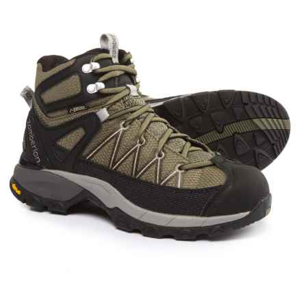 Zamberlan SH Crosser Plus Gore-Tex® RR Hiking Boots - Waterproof (For Men) in Olive Green - Closeouts