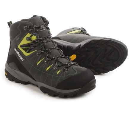 Zamberlan Torrent Gore-Tex® RR Hiking Boots - Waterproof (For Men) in Grey/Acid Green - Closeouts