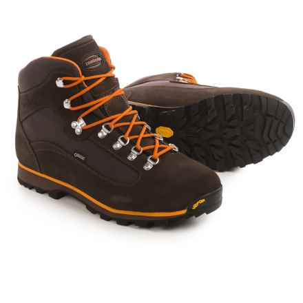 Zamberlan Trailblazer Gore-Tex® Hiking Boots - Waterproof (For Men) in Brown/Orange - Closeouts