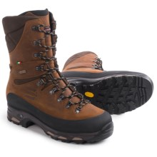 Zamberlan Vioz High Gore-Tex® RR Hunting Boots - Waterproof, Insulated (For Men) in Waxed Cognac - Closeouts