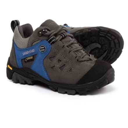 Zamberlan Zenith Gore-Tex® RR Jr Hiking Shoes - Waterproof (For Kids) in Cobalt/Grey - Closeouts