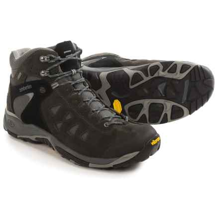 Zamberlan Zenith Gore-Tex® RR Mid Hiking Boots - Waterproof (For Men) in Black/Ciment - Closeouts