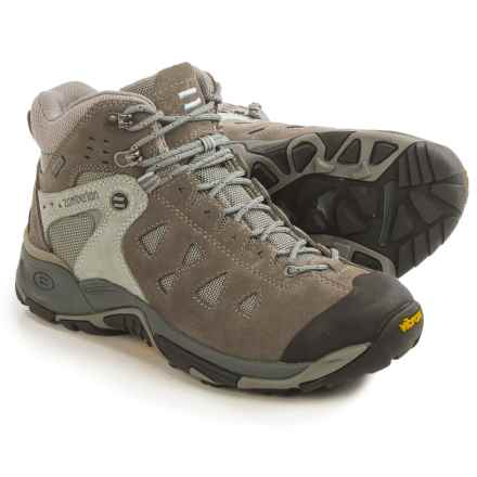 Zamberlan Zenith Gore-Tex® RR Mid Hiking Boots - Waterproof (For Women) in Grey/Light Blue - Closeouts