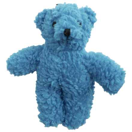 Zanies Pet Pals Berber Bear Squeaker Dog Toy in Blue - Closeouts