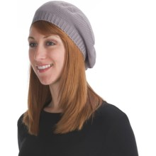 Zazou Slouchy Jersey Beret (For Women) in Ash Grey - Closeouts