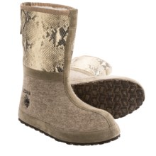 ZDAR Igor Winter Boots - Wool, Shearling (For Men and Women) in Python - Closeouts