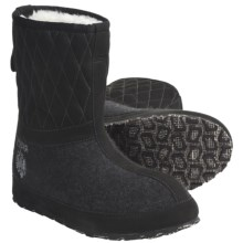 ZDAR Maksim Boots - Shearling Lining (For Women) in Black - Closeouts