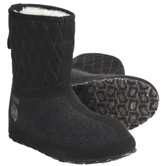 ZDAR Maksim Boots - Shearling Lining (For Women) in Black